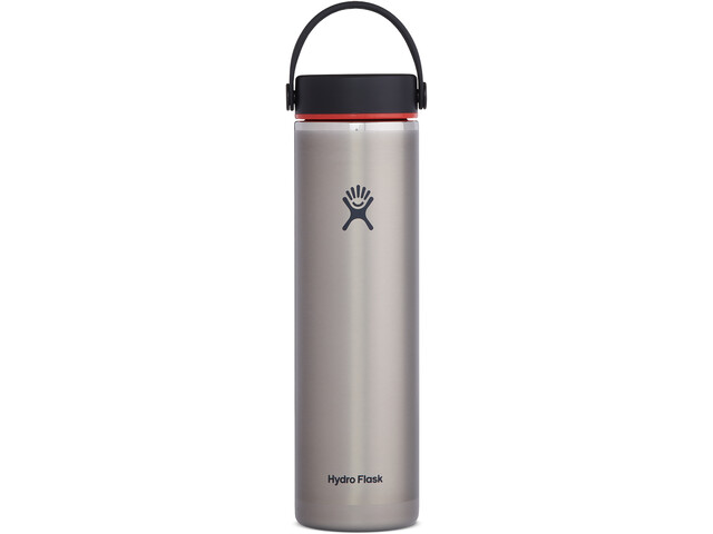 Hydro Flask Wide Mouth Trail Lightweight Gourde Avec BouchonFlex Cap 709ml, slate